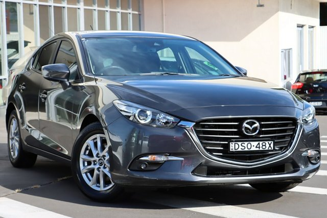 Used Mazda 3 BN5478 Maxx SKYACTIV-Drive Wollongong, 2017 Mazda 3 BN5478 Maxx SKYACTIV-Drive Machine Grey 6 Speed Sports Automatic Hatchback