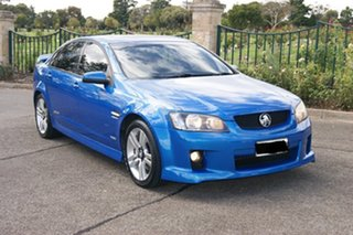 2009 Holden Commodore VE MY10 SS Blue 6 Speed Automatic Sedan.