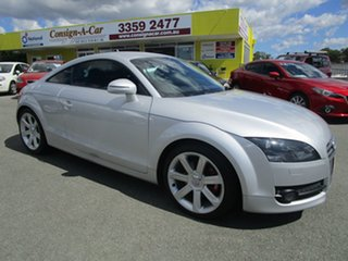 2008 Audi TT 8J MY09 Silver 6 Speed Manual Coupe.