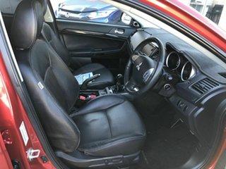 2013 Mitsubishi Lancer CJ MY14 VR-X Red 5 Speed Manual Sedan