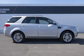 2012 Ford Territory SZ TS Seq Sport Shift Silver 6 Speed Sports Automatic Wagon.