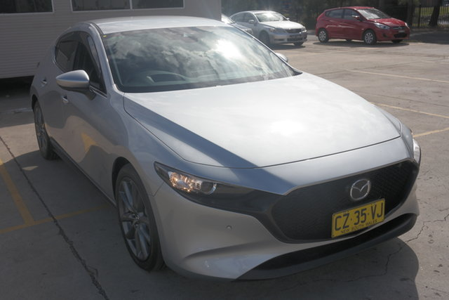 Used Mazda 3 BP2HLA G25 SKYACTIV-Drive GT Maryville, 2019 Mazda 3 BP2HLA G25 SKYACTIV-Drive GT Silver 6 Speed Sports Automatic Hatchback