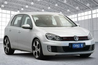 2011 Volkswagen Golf VI MY11 GTI DSG Silver 6 Speed Sports Automatic Dual Clutch Hatchback.