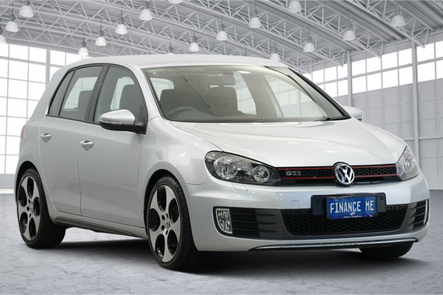 Used Volkswagen Golf VI MY11 GTI DSG Victoria Park, 2011 Volkswagen Golf VI MY11 GTI DSG Silver 6 Speed Sports Automatic Dual Clutch Hatchback