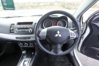 2008 Mitsubishi Lancer CJ MY08 ES White 6 Speed Constant Variable Sedan.