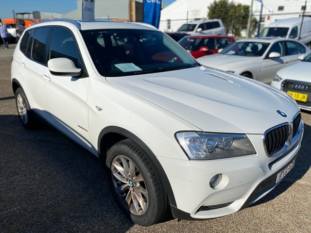Used BMW X3 F25 MY0413 xDrive20d Steptronic Wickham, 2013 BMW X3 F25 MY0413 xDrive20d Steptronic White 8 Speed Automatic Wagon