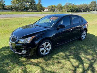 2012 Holden Cruze JH Series II MY13 Equipe Black 6 Speed Sports Automatic Hatchback.