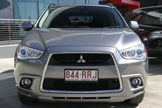 2011 Mitsubishi ASX XA MY11 Aspire Titanium Grey 6 Speed Constant Variable Wagon