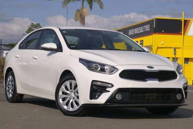 Used Kia Cerato BD MY19 SI Rocklea, 2019 Kia Cerato BD MY19 SI Clear White 6 Speed Sports Automatic Sedan