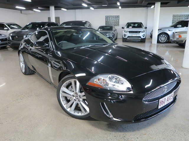 Used Jaguar XK X150 MY10 75th Anniversary Albion, 2010 Jaguar XK X150 MY10 75th Anniversary Black 6 Speed Sports Automatic Coupe