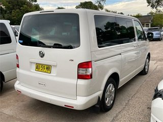 2008 Volkswagen Caravelle T5 White Sports Automatic Wagon