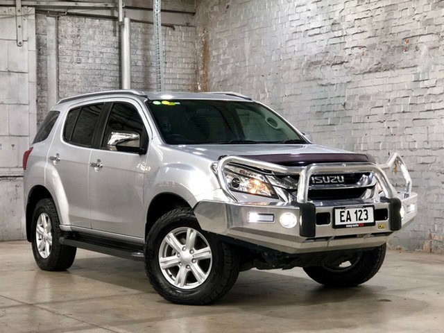 Used Isuzu MU-X MY15 LS-T Rev-Tronic Mile End South, 2015 Isuzu MU-X MY15 LS-T Rev-Tronic Silver 5 Speed Sports Automatic Wagon