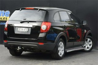 2007 Holden Captiva CG MY08 CX AWD Black 5 Speed Sports Automatic Wagon
