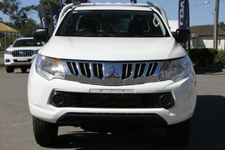 2015 Mitsubishi Triton MQ MY16 GLX 4x2 White Solid 5 Speed Sports Automatic Cab Chassis