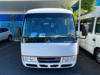 2014 Mitsubishi Fuso Rosa BE64D Deluxe White Automatic Midi Coach.