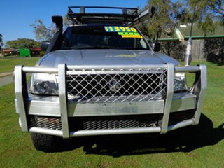 2005 Holden Rodeo RA MY05 LX Crew Cab Silver 5 Speed Manual Cab Chassis