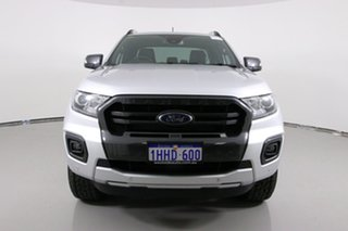 2018 Ford Ranger PX MkII MY18 Wildtrak 3.2 (4x4) Silver 6 Speed Manual Dual Cab Pick-up