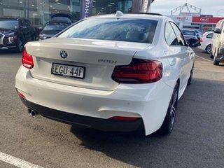 2020 BMW 220i F22 M Sport Alpine White 8 Speed Automatic Coupe