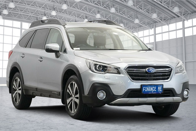 Used Subaru Outback B6A MY18 2.5i CVT AWD Premium Victoria Park, 2018 Subaru Outback B6A MY18 2.5i CVT AWD Premium Silver 7 Speed Constant Variable Wagon