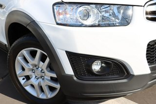 2015 Holden Captiva CG MY15 7 Active White 6 Speed Sports Automatic Wagon.
