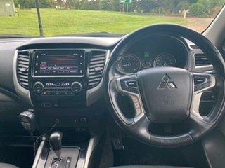 2017 Mitsubishi Triton MQ MY17 GLS (4x4) Silver 5 Speed Automatic Dual Cab Utility.