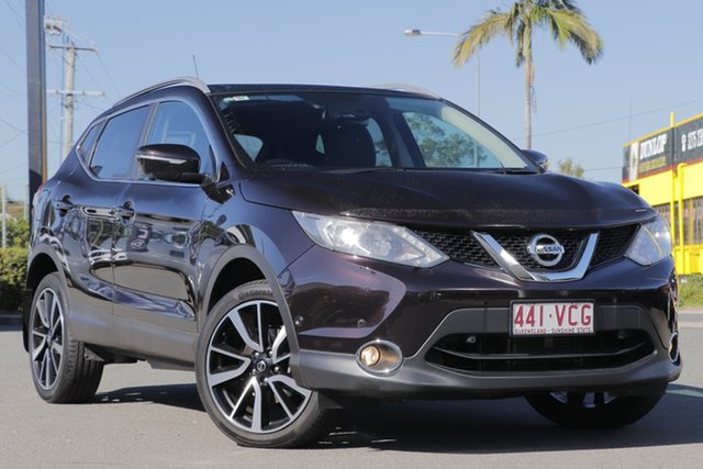 Used Nissan Qashqai J11 TI Rocklea, 2014 Nissan Qashqai J11 TI Nightshade 1 Speed Constant Variable Wagon