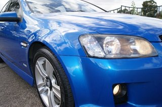 2009 Holden Commodore VE MY10 SS Blue 6 Speed Automatic Sedan.