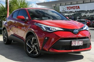2021 Toyota C-HR ZYX10R Koba E-CVT 2WD Feverish Red 7 Speed Constant Variable Wagon Hybrid.