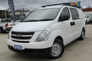 2013 Hyundai iLOAD TQ2-V MY13 White 6 Speed Manual Van.