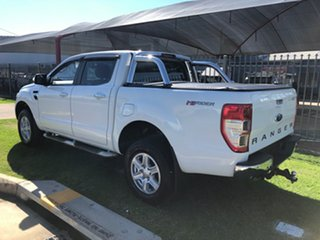 2015 Ford Ranger PX XLT 3.2 Hi-Rider (4x2) White 6 Speed Automatic Crew Cab Pickup