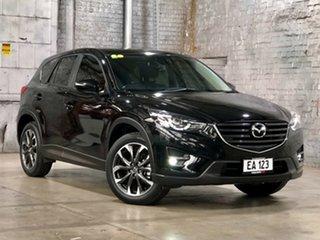 2016 Mazda CX-5 KE1032 Grand Touring SKYACTIV-Drive AWD Black 6 Speed Sports Automatic Wagon.