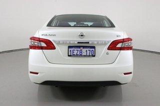 2016 Nissan Pulsar B17 Series 2 ST White Continuous Variable Sedan