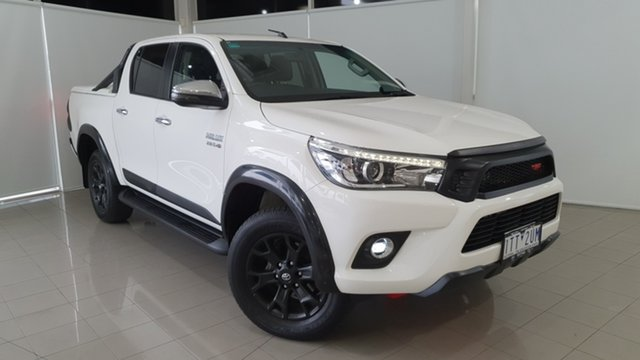 Used Toyota Hilux GUN126R SR5 Double Cab Deer Park, 2018 Toyota Hilux GUN126R SR5 Double Cab White 6 Speed Sports Automatic Utility