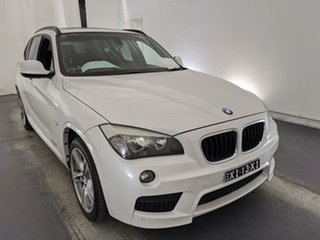 2010 BMW X1 E84 MY11 xDrive20d Steptronic White 6 Speed Sports Automatic Wagon.