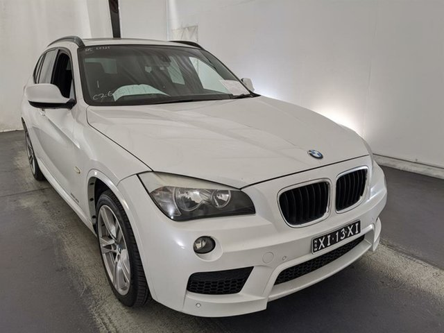 Used BMW X1 E84 MY0911 xDrive20d Steptronic AWD Maryville, 2011 BMW X1 E84 MY0911 xDrive20d Steptronic AWD White 6 Speed Sports Automatic Wagon