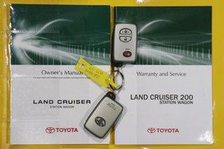 2010 Toyota Landcruiser VDJ200R 09 Upgrade Sahara (4x4) Graphite 6 Speed Automatic Wagon