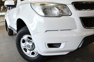 2014 Holden Colorado RG MY14 LX Crew Cab 4x2 Summit White 6 Speed Sports Automatic Utility.