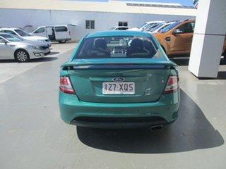 2012 Ford Falcon FG Upgrade XR6 Green 6 Speed Auto Seq Sportshift Sedan.