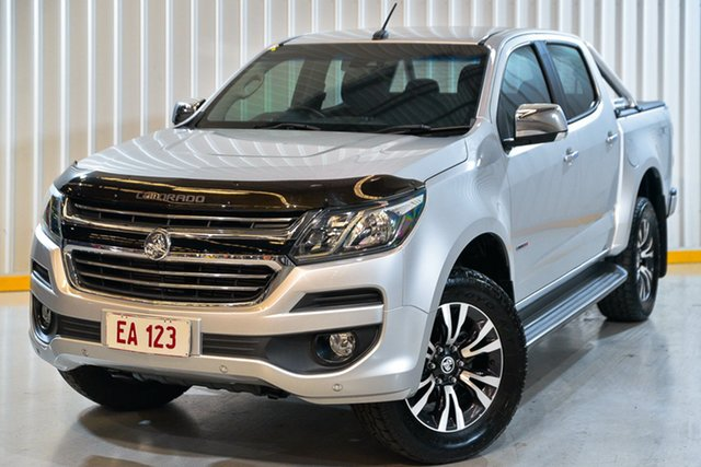 Used Holden Colorado RG MY17 LTZ Pickup Crew Cab Hendra, 2017 Holden Colorado RG MY17 LTZ Pickup Crew Cab Silver 6 Speed Sports Automatic Utility
