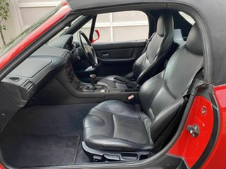 1997 BMW Z3 E36-7 Red 5 Speed Manual Roadster