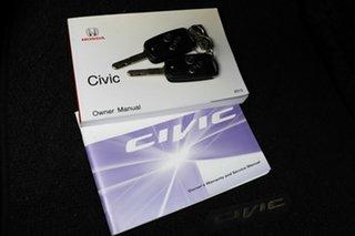 2014 Honda Civic 9th Gen Ser II MY13 VTi-L Black 5 Speed Sports Automatic Sedan