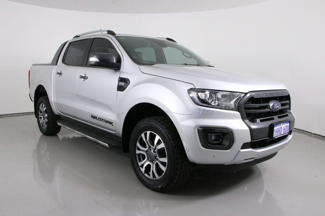 Used Ford Ranger PX MkII MY18 Wildtrak 3.2 (4x4) Bentley, 2018 Ford Ranger PX MkII MY18 Wildtrak 3.2 (4x4) Silver 6 Speed Manual Dual Cab Pick-up