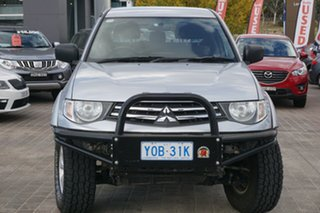 2015 Mitsubishi Triton MN MY15 GLX Double Cab Silver 4 Speed Sports Automatic Utility.