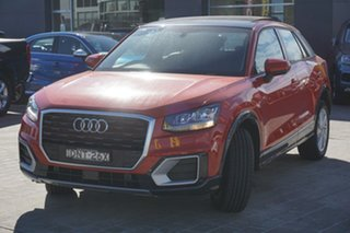 2017 Audi Q2 GA MY17 design S Tronic Orange 7 Speed Sports Automatic Dual Clutch Wagon