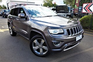 2013 Jeep Grand Cherokee WK MY2014 Overland Grey 8 Speed Sports Automatic Wagon.