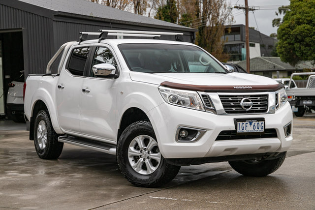 Used Nissan Navara D23 ST Mornington, 2015 Nissan Navara D23 ST White 7 Speed Sports Automatic Utility
