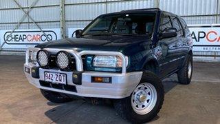 1999 Holden Frontera MX Green 5 Speed Manual Wagon.