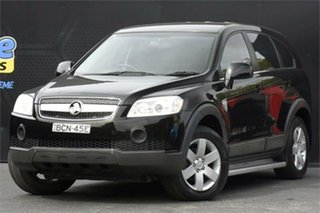 2007 Holden Captiva CG MY08 CX AWD Black 5 Speed Sports Automatic Wagon.