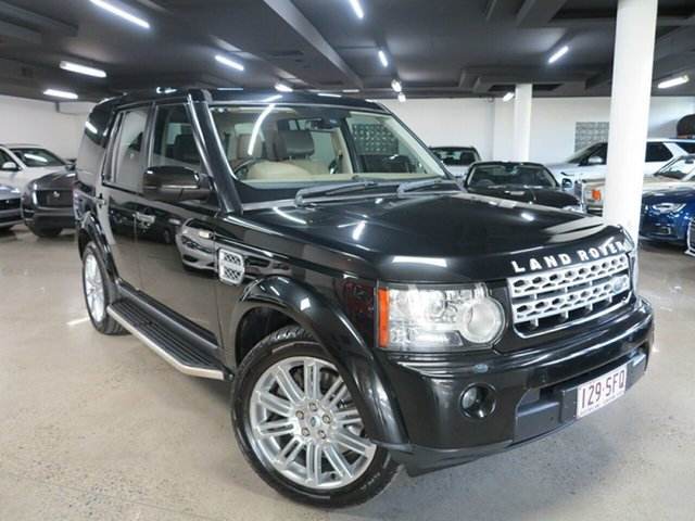 Used Land Rover Discovery 4 Series 4 MY12 SDV6 CommandShift HSE Albion, 2012 Land Rover Discovery 4 Series 4 MY12 SDV6 CommandShift HSE Black 6 Speed Sports Automatic Wagon
