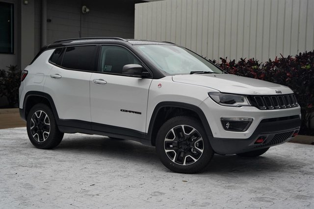 New Jeep Compass M6 MY20 Trailhawk Cairns, 2021 Jeep Compass M6 MY20 Trailhawk Minimal Grey 9 Speed Automatic Wagon